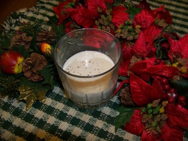 Sugar Free Holiday Eggnog