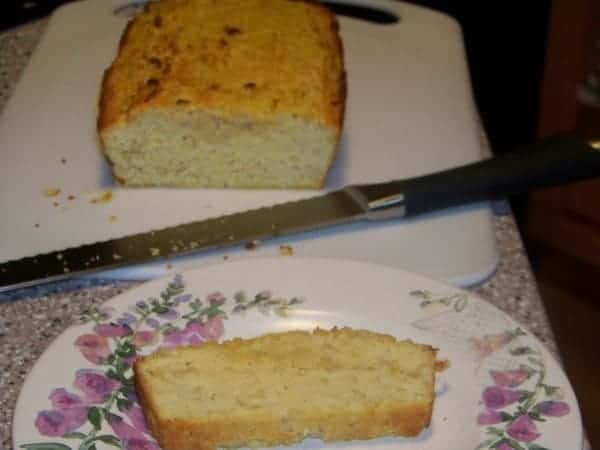 Low Carb Gluten Free Corn Bread