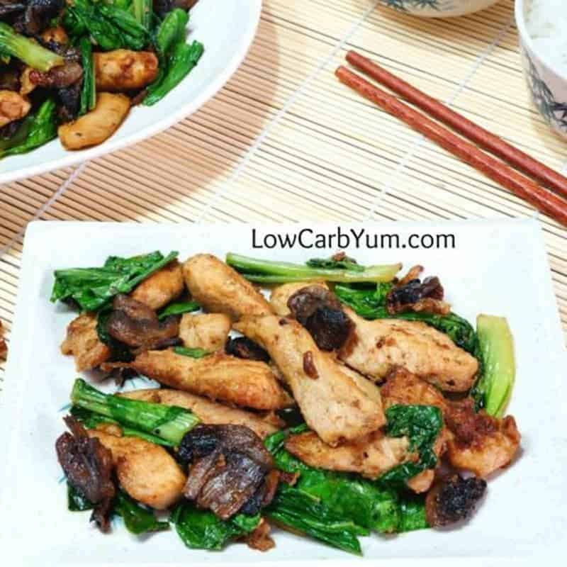 Chicken Bok Choy Low Carb Stir Fry – Gluten Free