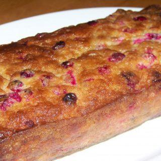 Gluten Free Cranberry Bread Recipe – Sugar Free