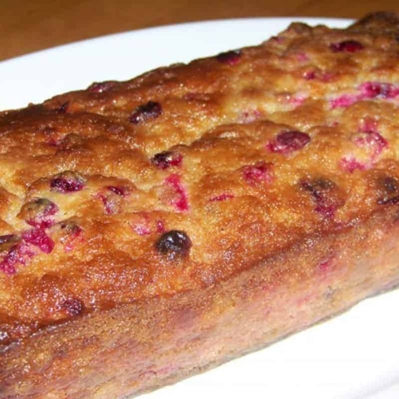 Gluten Free Cranberry Bread Recipe – Sugar Free