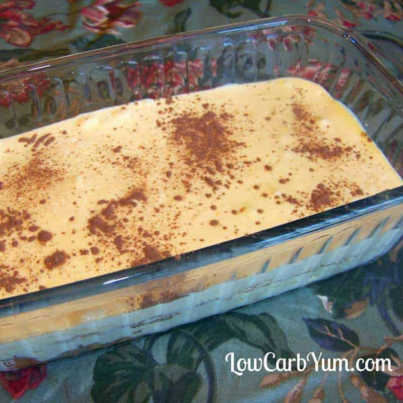 Low Carb Tiramisu Made with Almond Flour – Gluten Free