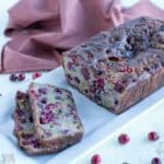 Gluten free cranberry bread recipe
