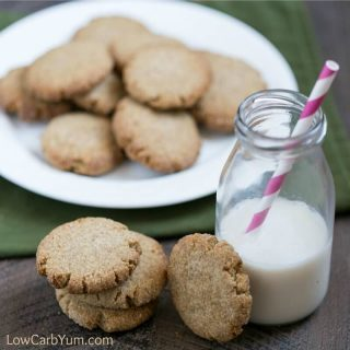 Soft Ginger Cookies – Low Carb and Gluten Free