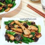 Low carb chicken bok choy stir fry