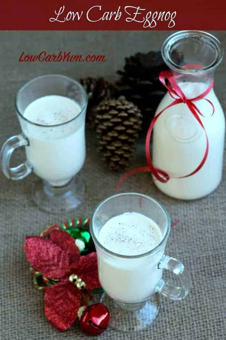 Low carb sugar free eggnog recipe