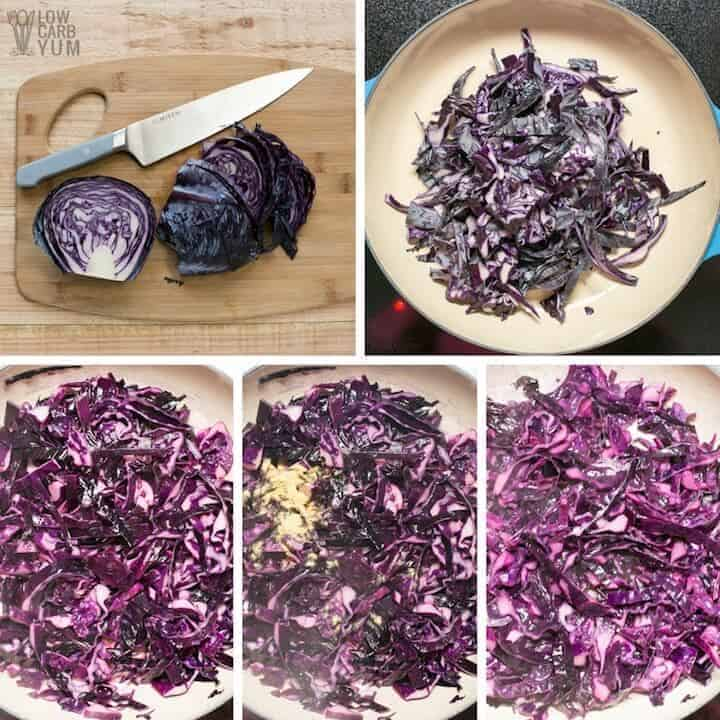 How to make sautéed red cabbage