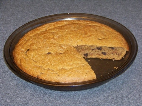 Gluten Free Peanut Flour Cake with Chocolate Chips