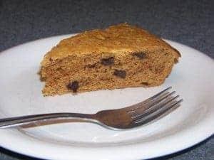 Chocolate Chip Peanut Flour Cake