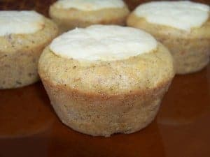 Cream Cheese Filled Carrot Muffins