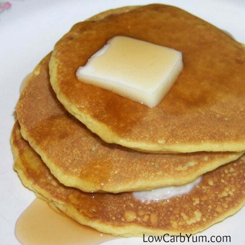 Oat Fiber Low Carb Buttermilk Pancakes – Gluten Free