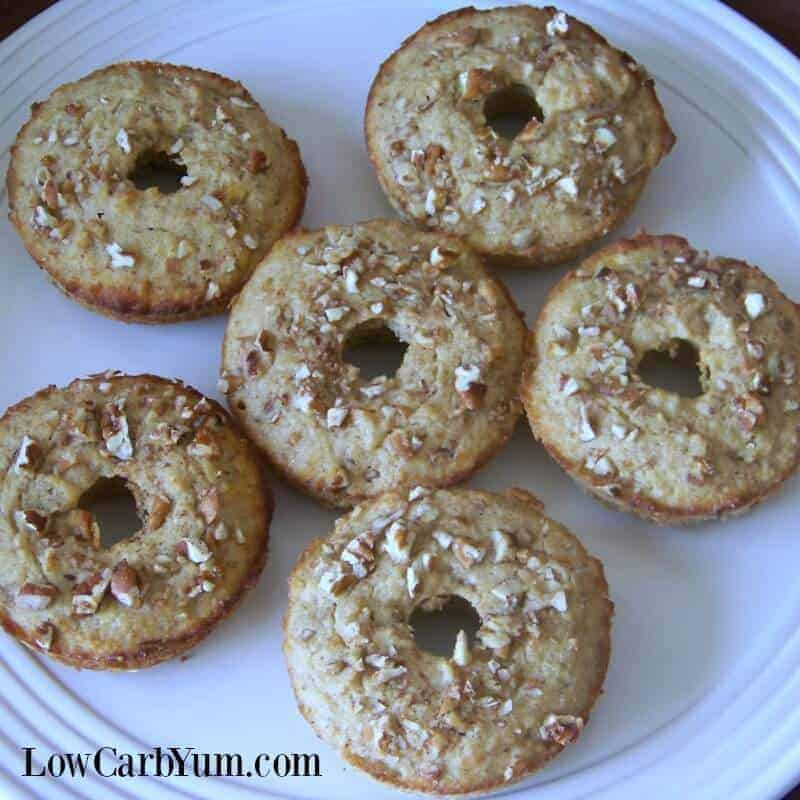 Banana Donuts or Muffins – Low Carb and Gluten Free