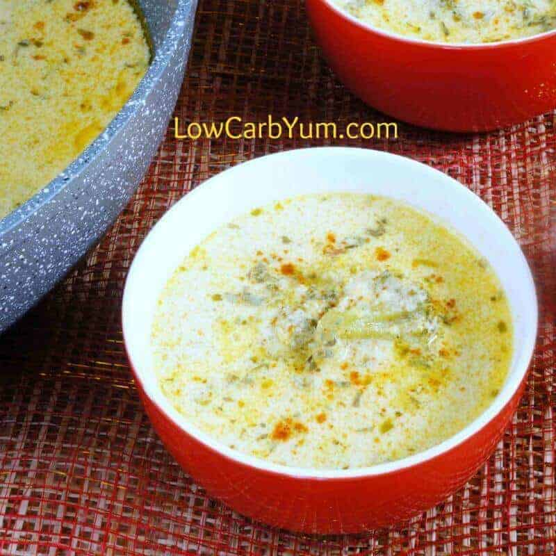 Creamy Low Carb Broccoli Cheese Soup – Gluten Free