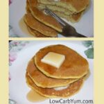 Low carb oat fiber buttermilk pancakes