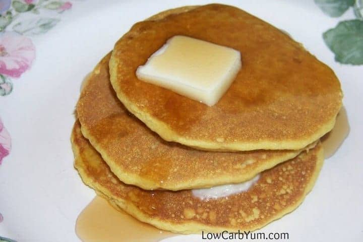 Oat fiber low carb buttermilk pancakes