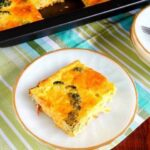 Simple broccoli egg casserole recipe