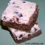 Easy chocolate chip cheesecake bars