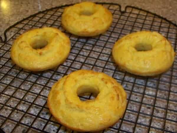 Gluten Free Mock Bagels made with Coconut Flour