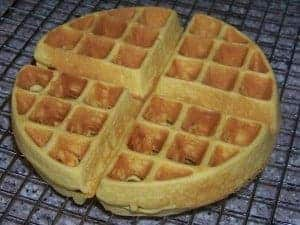Low Carb Gluten Free Belgian Waffle
