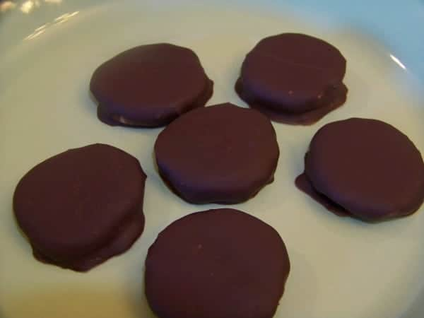 Homemade Peppermint Patties - Low Carb and Sugar Free
