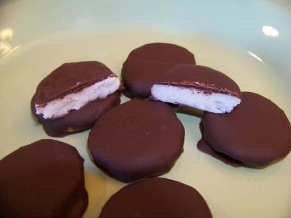 Low Carb Sugar Free Peppermint Patties