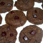 Black Soy Bean Double Chocolate Cookies