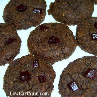 Keto Double Chocolate Chip Cookies – Gluten Free