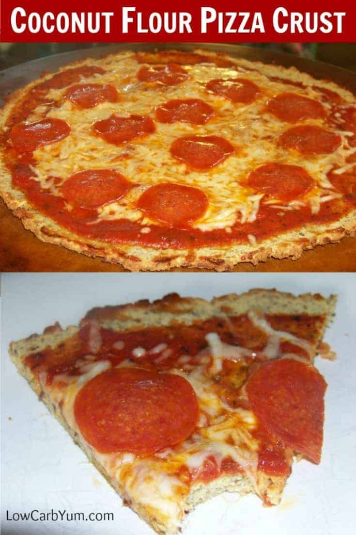 Interested in trying a low carb and gluten free pizza crust that even a teenager will love? This coconut flour pizza crust got thumbs up from my picky daughter.
