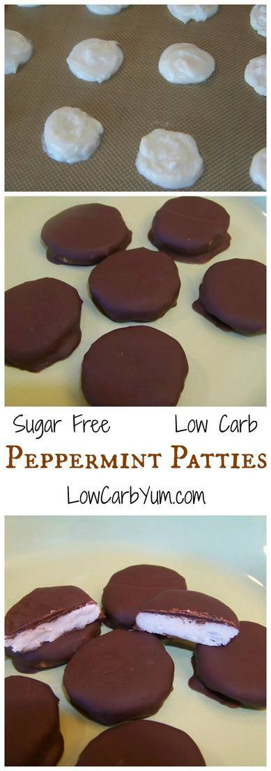 No time to make delicious low homemade low carb candy? Think again. These wonderful all natural sugar free peppermint patties can be made quick and easy. LCHF Keto snack recipe