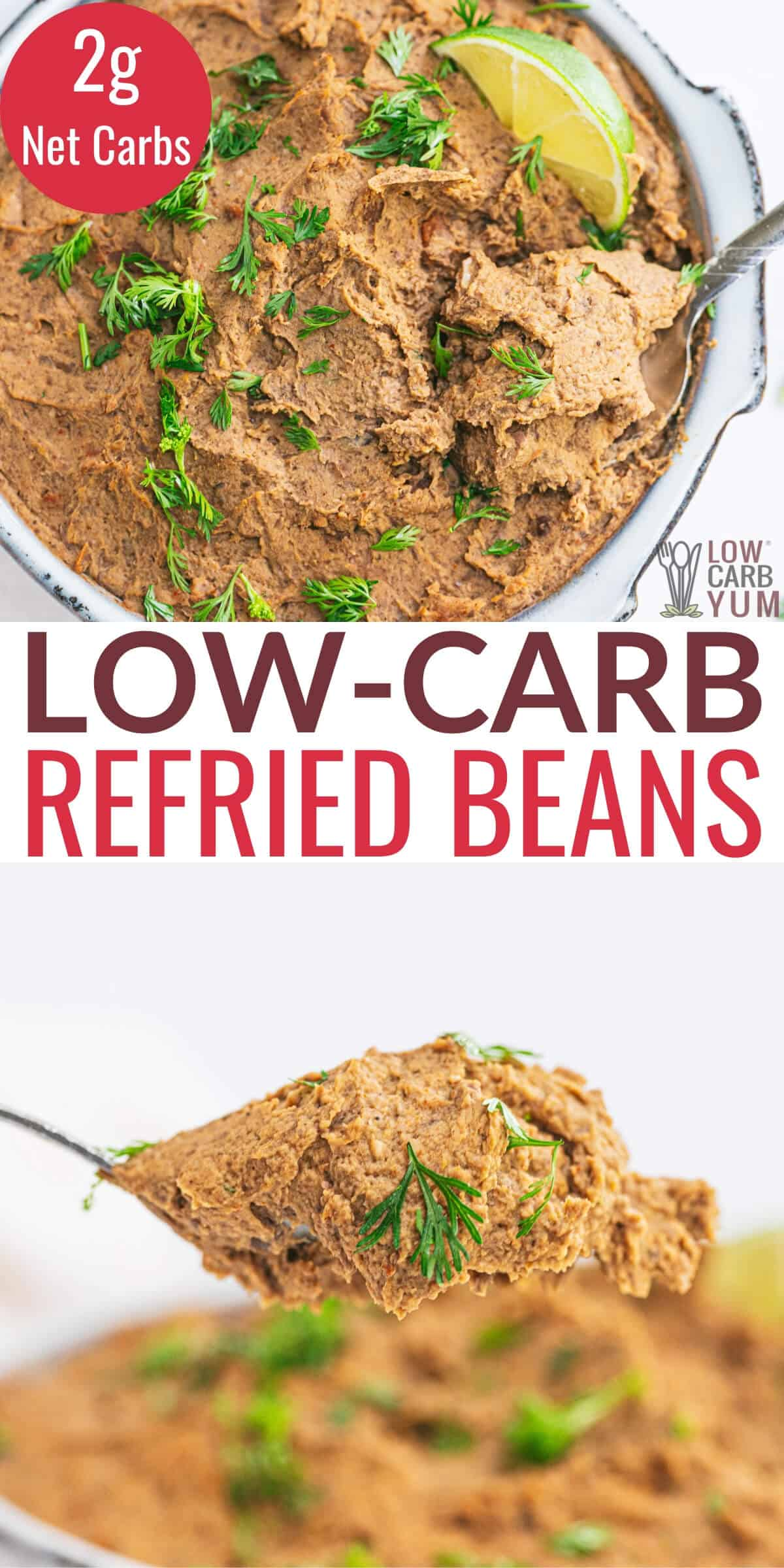 Low Carb Refried Beans Recipe With Bacon Low Carb Yum
