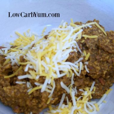 Low carb refried beans