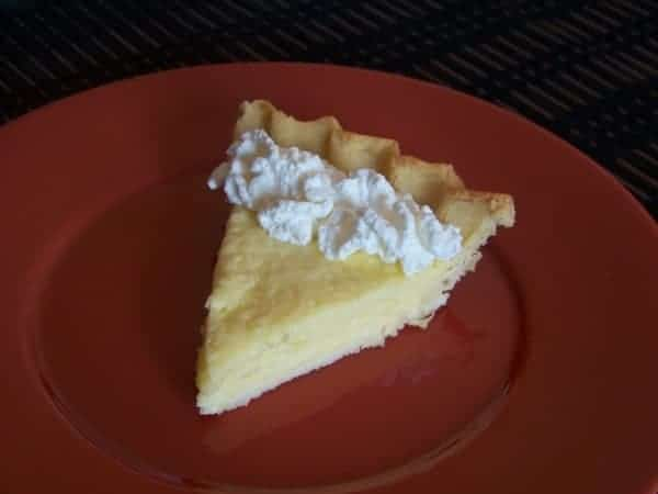 low carb key lime pie with a flaky gluten free coconut flour crust ...