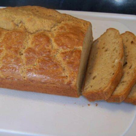 Gluten Free Peanut Flour Bread