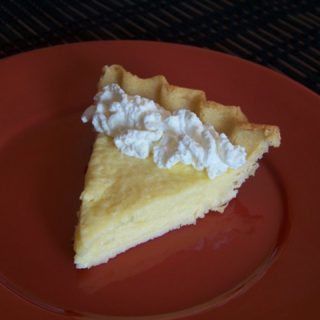 Key Lime Pie with Coconut Flour Crust