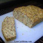 Coconut flour low carb flax bread