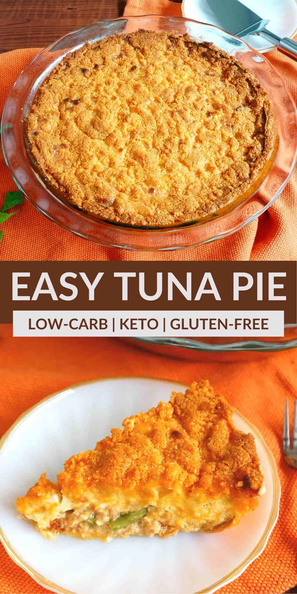 easy tuna pie pinterest image