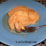 Gluten free peanut butter pancakes