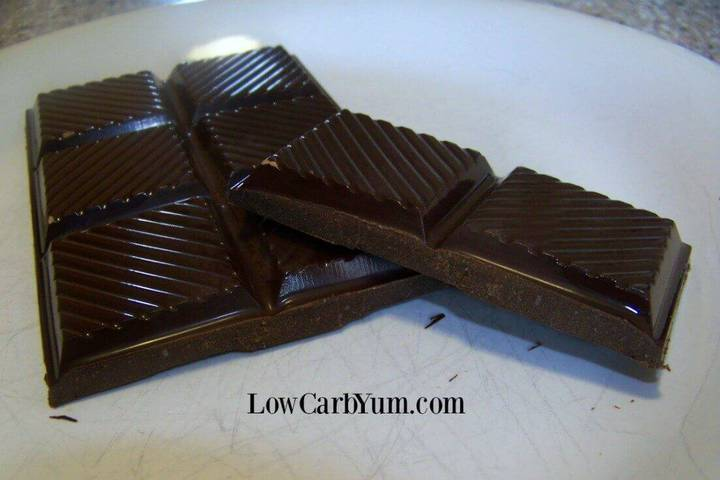 Homemade Chocolate Bars - Low Carb and Sugar Free | Low Carb Yum