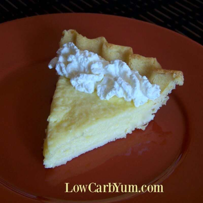 Low Carb Coconut Key Lime Pie from Scratch