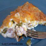 Low carb tuna pie recipe
