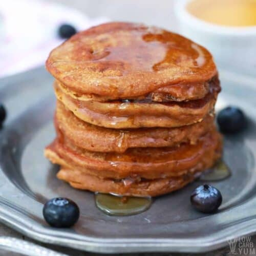 peanut butter pancakes featured image