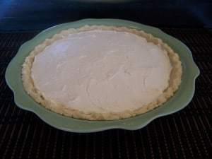 Creamy Low Carb Key Lime Pie - Gluten Free