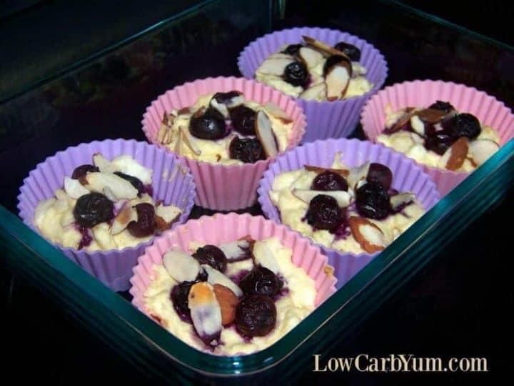 Blueberry cheese muffin recipe