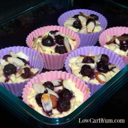Blueberry cheese muffin recipe