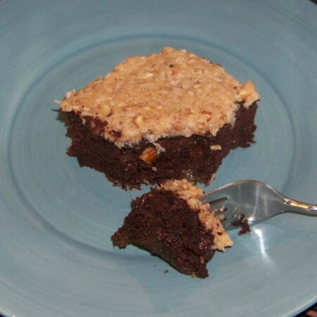 German Chocolate Zucchini Cake