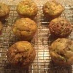 Coconut Flour Zucchini Muffins