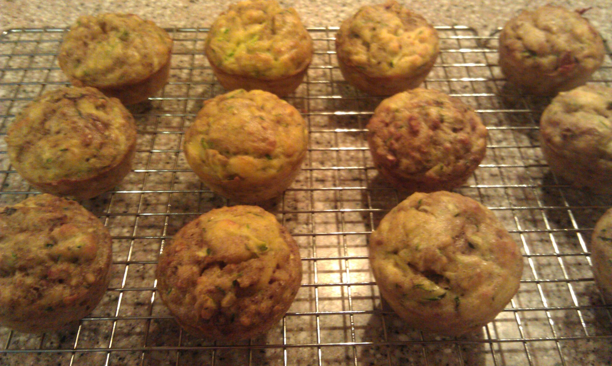 Coconut Flour Zucchini Muffins | Low Carb Yum