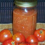 Low carb sugar free homemade pizza sauce