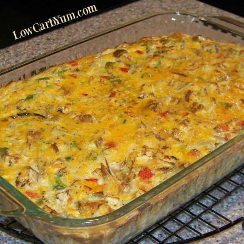 Baked Crabmeat Casserole with Vegetables