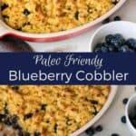 Paleo Blueberry Berry Cobbler Recipe